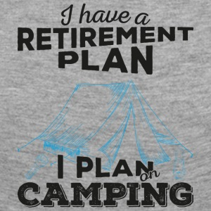 Retirement plan camping (dark) - Women's Premium Longsleeve Shirt