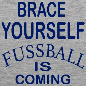 Brace Yourself Football Is Coming - Bleu - T-shirt manches longues Premium Femme