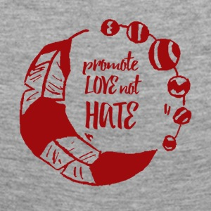 Hippie / Hippies: Promote Love not Hate - Women's Premium Longsleeve Shirt