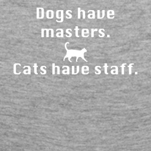 Cats have staff - Women's Premium Longsleeve Shirt