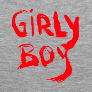 GIRLY BOY - Dame premium T-shirt med lange ærmer