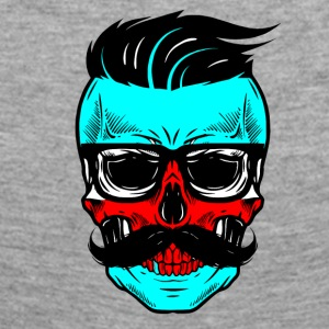 HIPSTER SKULL - T-shirt manches longues Premium Femme