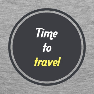 Time to travel - Cercle - T-shirt manches longues Premium Femme