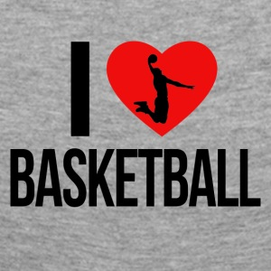 I LOVE BASKETBALL - Women's Premium Longsleeve Shirt