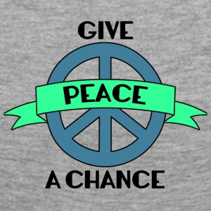 Hippie / Hippies: Give Peace A Chance - Camiseta de manga larga premium mujer