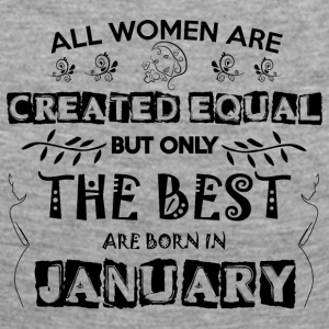 Woman Birthday January - Women's Premium Longsleeve Shirt