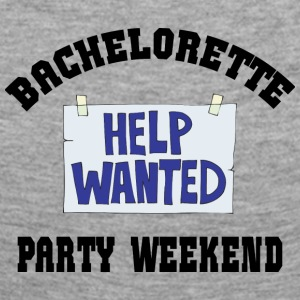 Bachelorette Party Help Wanted - Women's Premium Longsleeve Shirt