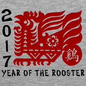 2017 Year of The Rooster Papercut - Women's Premium Longsleeve Shirt
