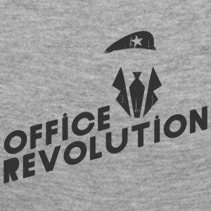 Office revolution - Långärmad premium-T-shirt dam