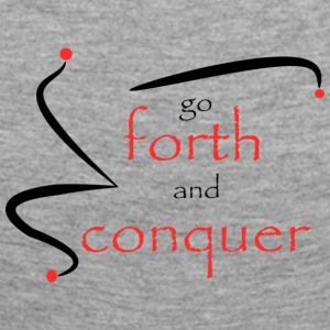Forth and conquer red - Women's Premium Longsleeve Shirt