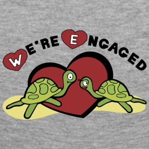 We're Engaged - Women's Premium Longsleeve Shirt