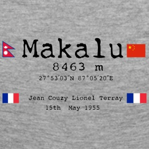 Makalublack - T-shirt manches longues Premium Femme