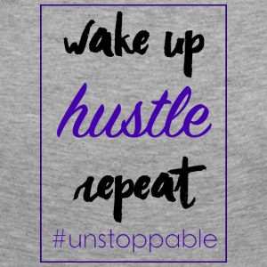 wake up, hustle, repeat - Women's Premium Longsleeve Shirt