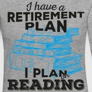 Retirement plan reading (dark) - Women's Premium Longsleeve Shirt