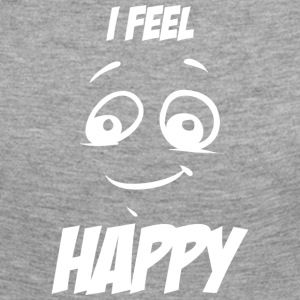 I feel happy white - Women's Premium Longsleeve Shirt