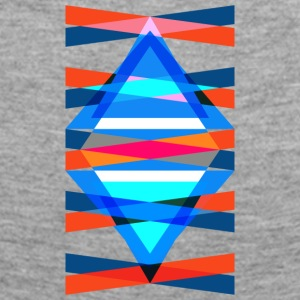 TMH - triangular triangle structure - Frauen Premium Langarmshirt