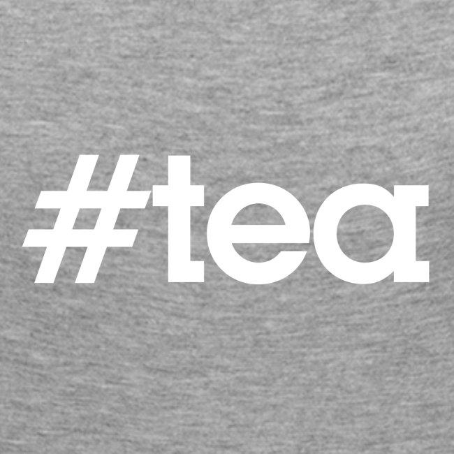 "Hashtag ""Tea"" - blanc"