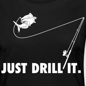 just drill it - Frauen Premium Langarmshirt