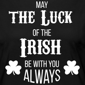 Luck of the Irish - T-shirt manches longues Premium Femme