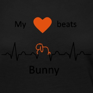 My heart beats for rabbits (Aries) - Women's Premium Longsleeve Shirt
