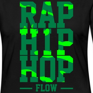 Rap Hip Hop Flow - Premium langermet T-skjorte for kvinner