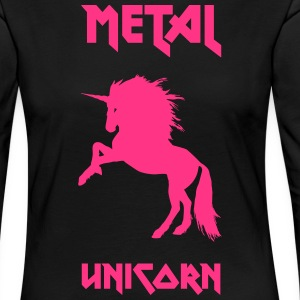 Metal Unicorn - Women's Premium Longsleeve Shirt