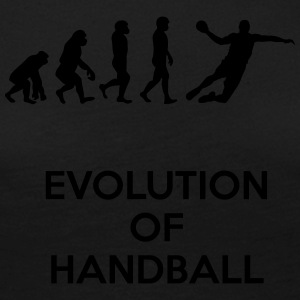 Evolution of handball - Women's Premium Longsleeve Shirt