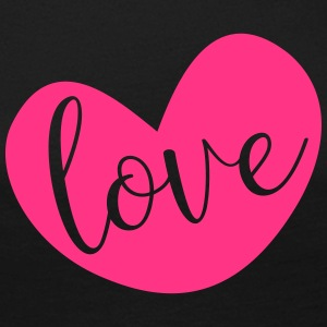 Love in Pink Heart - Women's Premium Longsleeve Shirt