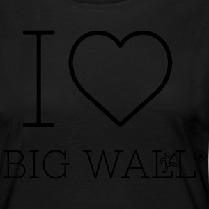 I love Big Wall - Women's Premium Longsleeve Shirt