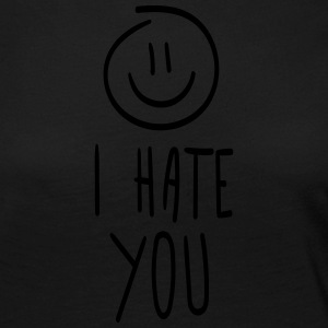 I hate you - Women's Premium Longsleeve Shirt