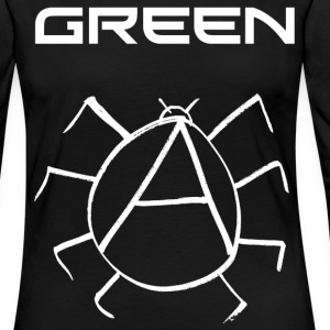 Green Anarchy Beetle - Women's Premium Longsleeve Shirt