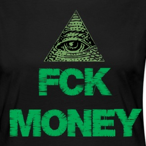 FCK MONEY - Women's Premium Longsleeve Shirt