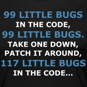 99 LITTLE BUGS IN THE CODE - Women's Premium Longsleeve Shirt