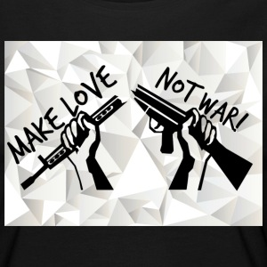 MAKE LOVE - NOT WAR! (Peace,Freedom,Anti War) - Frauen Premium Langarmshirt