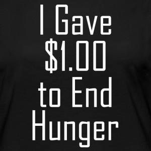 1 dollar against famines - Women's Premium Longsleeve Shirt