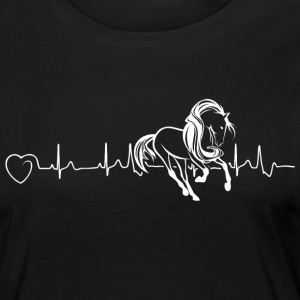 Horses are my heartbeat - Women's Premium Longsleeve Shirt