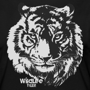 Wildlife · Tiger - T-shirt manches longues Premium Femme
