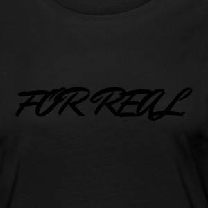 FOR_REAL - Camiseta de manga larga premium mujer