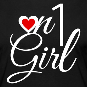 On1 Girl wit - Dance Shirts - Vrouwen Premium shirt met lange mouwen