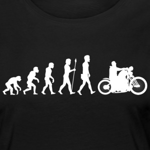 Evolution / motorcycle / motorcyclist / biker / bike - Women's Premium Longsleeve Shirt