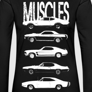 Muscles cars - Women's Premium Longsleeve Shirt