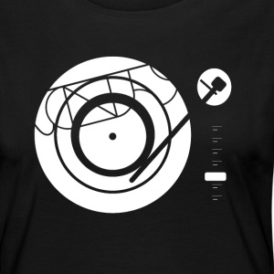 Kynda Music Turntable with - Women's Premium Longsleeve Shirt