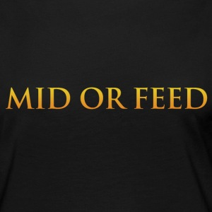 Mid or feed - Women's Premium Longsleeve Shirt