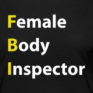 Female Body Inspector - Premium langermet T-skjorte for kvinner