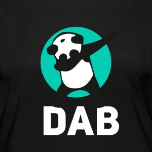 dab panda touchdown Football krass Music LOL funny - Frauen Premium Langarmshirt