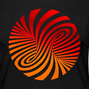 psychedelic circles lsd optical illusion column - Women's Premium Longsleeve Shirt