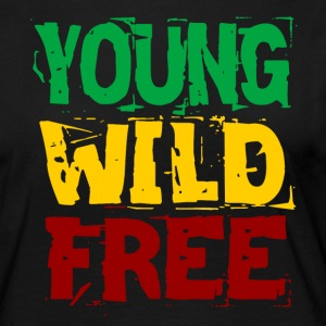 Young Wild Free - T-shirt manches longues Premium Femme