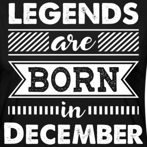 Legends are Born in December - Women's Premium Longsleeve Shirt