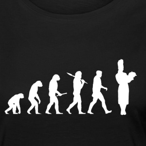 Evolution Cooking! Boss! Cook! Cook! - Women's Premium Longsleeve Shirt