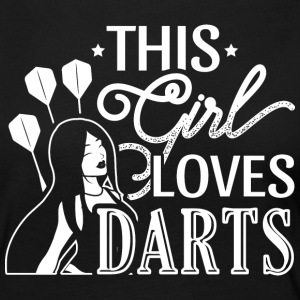 DART THIS GIRL LOVES DARTS - Women's Premium Longsleeve Shirt